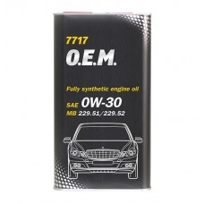 Mannol 7717 O.E.M. for MERCEDES BENZ 0W-30  1.L