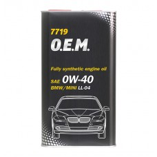Mannol 7719 O.E.M. for BMW/MINI 0W-40 1.L
