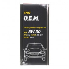 Mannol 7707 O.E.M. for FORD & VOLVO 5W-30 5.L